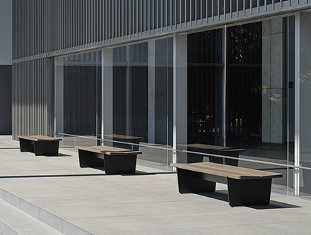 SLED Bench outdoor