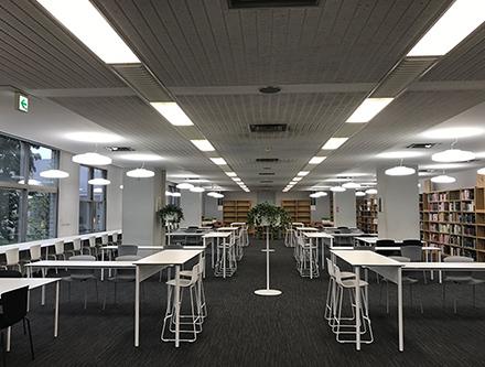 Keio University Hiyoshi Media Library