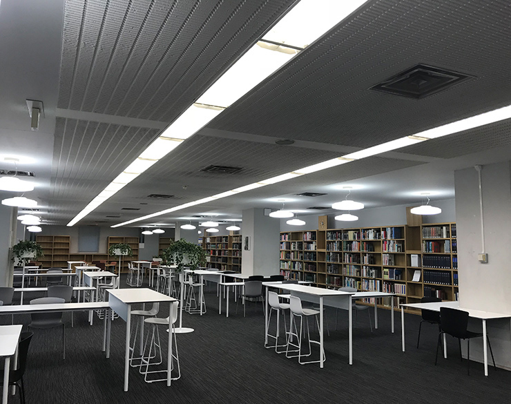 Keio University Hiyoshi Media Library