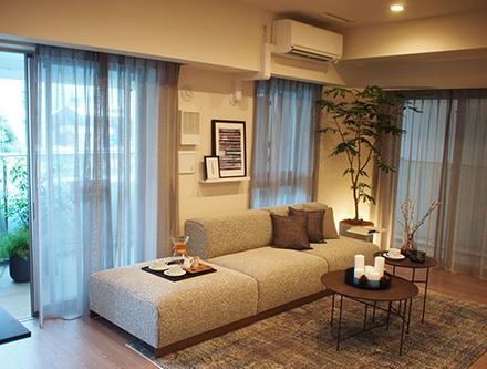 Brillia Shinagawa Canal Side Model Room